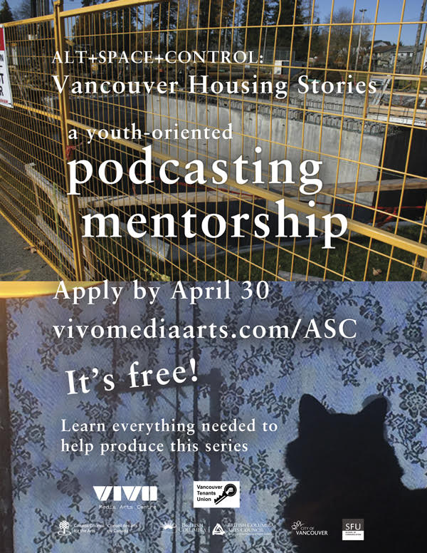 Vancouver Housing Stories Poster